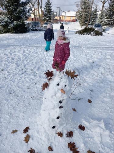 2020/2021 Zabawy na śniegu
